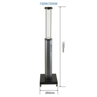 Ультрафиолетовая бактерицидная лампа с датчиком движения Dr.HD Quartz 200 Вт Озоновая