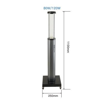 Ультрафиолетовая бактерицидная лампа с датчиком движения Dr.HD Quartz 80 Вт