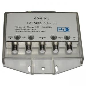 Дисек-переключатель Euston GD-4101L DiSEqC 4x1