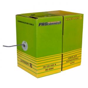 Кабель FTP ProConnect 4PR CAT6 LT, бухта 305 м
