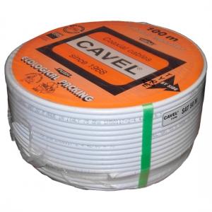 Кабель коаксиальный Cavel SAT 50 M Cu/Cu, бухта 100 м