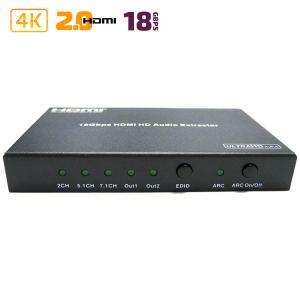 Конвертер HDMI в 2x HDMI + SPDIF + Audio 3.5mm / Dr.HD CA 146 HHS