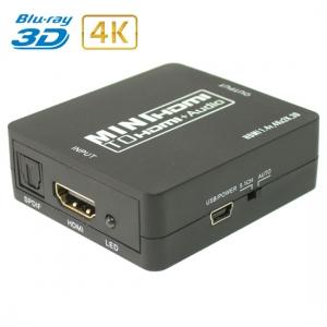Конвертер HDMI в HDMI + S/PDIF + Audio 3.5mm / Dr.HD CA 134 HHA
