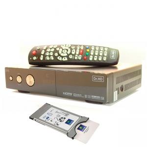Dr.HD D15 Plus с модулем и картой НТВ-Плюс CI+