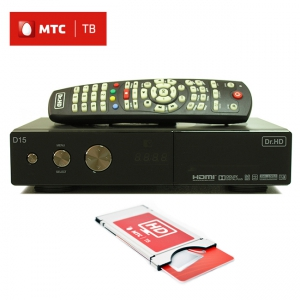 Dr.HD D15 с модулем и картой МТС ТВ