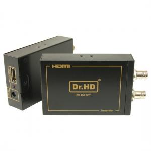 HDMI удлинитель по коаксиальному кабелю / Dr.HD EX 100 SC