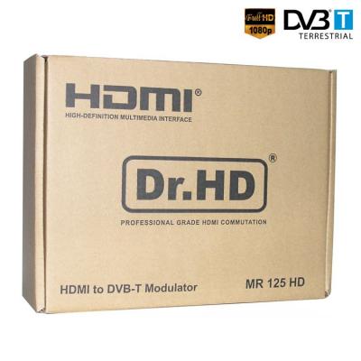 Передача HDMI по телевизионному кабелю Dr.HD