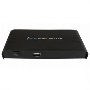 Удлинитель Dr.HD HDMI по Ethernet-сети (конвертер PC в HDMI)