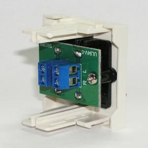 Розетка HiFi аудио с зажимами / Dr.HD SOC 2xSPK