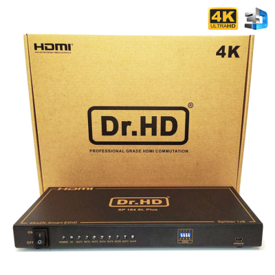 Dr.HD SP 184 SL Plus - разветвитель HDMI 1 на 8