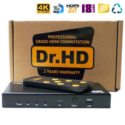 HDMI 2.0 переключатель 3x1 / Dr.HD SW 316 SL