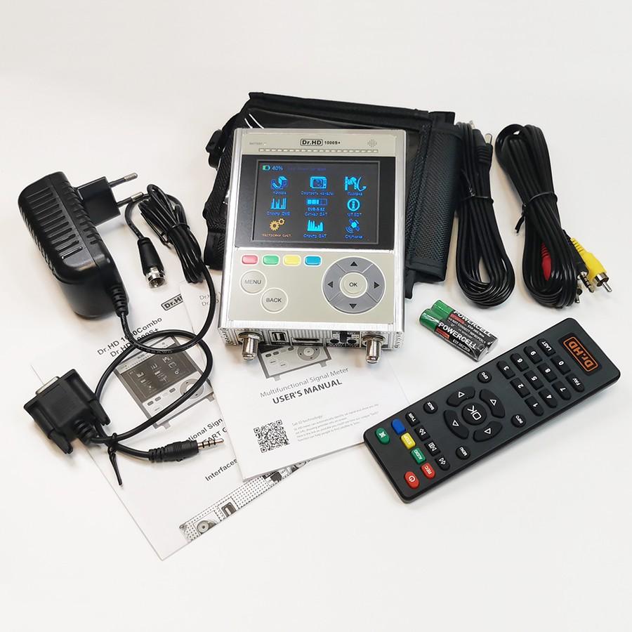 Анализатор спектра Dr.HD 1000 S+