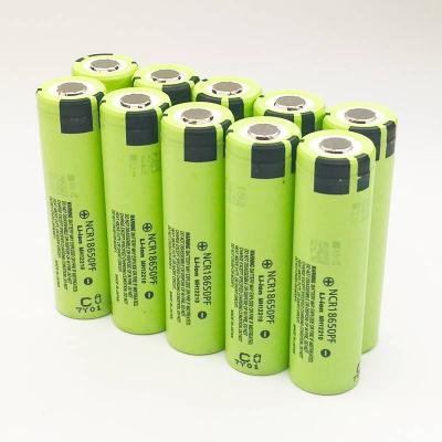 Комплект из 10 аккумуляторов 18650 Li-ion Panasonic NCR18650PF