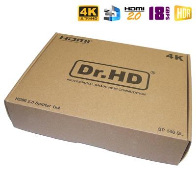 Dr.HD SP 146 SL - HDMI делитель 1x4