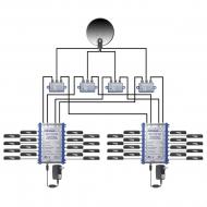 Мультисвитч 4x12 Spaun SMS 41209 WBP