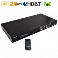 HDMI 2.0 матрица 4x4 с удлинением по UTP с HDBaseT / Dr.HD MA 445 FBT 70