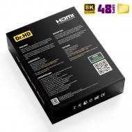 8K HDMI 2.1 кабель 2 м Dr.HD