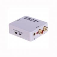 Конвертер Coaxial + SPDIF в AV + Audio 3.5mm / Dr.HD CA 221 DAS