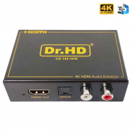 Конвертер HDMI в HDMI + SPDIF + L/R Audio / Dr.HD CA 144 HHS