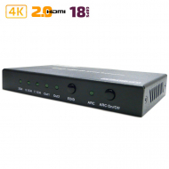 Конвертер HDMI в 2x HDMI + S/PDIF + Audio 3.5mm / Dr.HD CA 146 HHS