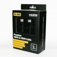 HDMI кабель 3 м Premium Dr.HD