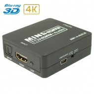 Конвертер HDMI в HDMI + SPDIF + Audio 3.5mm / Dr.HD CA 134 HHA