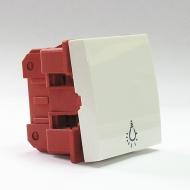 Выключатель 1 клавишный Dr.HD 10 A/250 В, 45х45