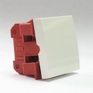 Выключатель 1 клавишный Dr.HD, 45х45