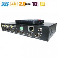 HDMI 2.0 матрица 4x4 / Dr.HD MA 446 FX