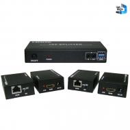 HDMI сплиттер 1x4 с удлинением по UTP / Dr.HD SC 144 Plus