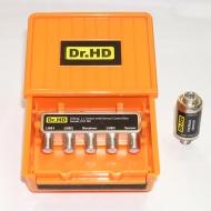 Дисек-переключатель Dr.HD DiSEqC 3x1 с термодатчиком
