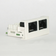 Розетка 2xRJ-45 / Dr.HD SOC 2xRJ45