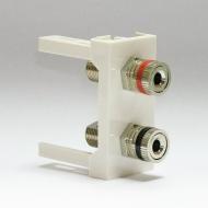 Розетка аудио L/R тип Speaker / Dr.HD SOC 2xSP