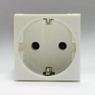 Розетка электрическая, тип EU 45x45 / Dr.HD SOC EU 45x45