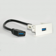 Розетка USB 3.0 с косичкой / Dr.HD SOC USB 3.0 P