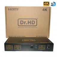 HDMI сплиттер 1x2 / Dr.HD SP 124 SLA Plus
