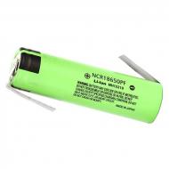 Аккумулятор 18650 Li-ion Panasonic NCR18650PF под пайку