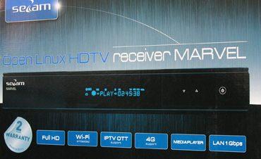 DVB-S2/T2/C/IPTV HD-ресивер Sezam Marvel