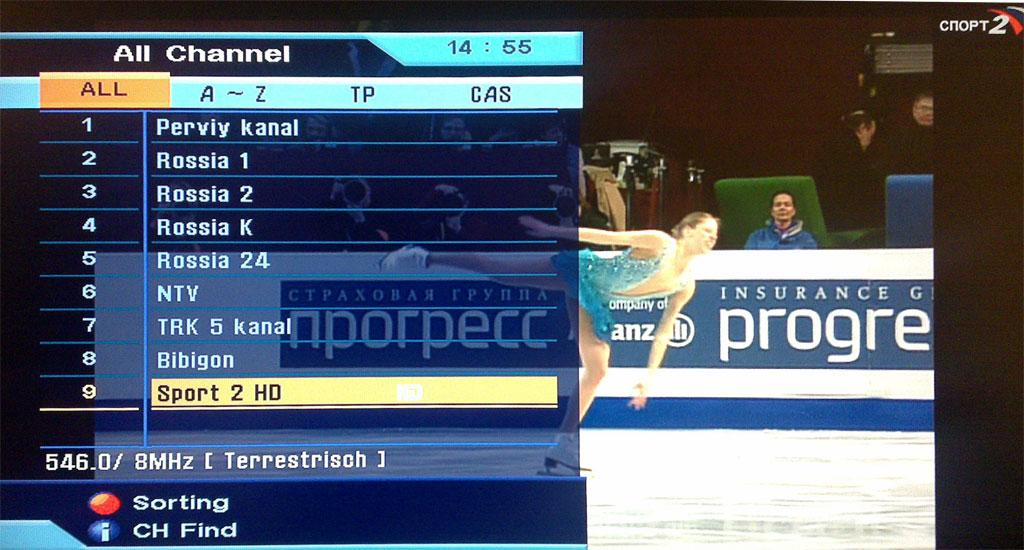 sport2hd FAQ на тему приема HDTV эфирного DVB-T телевидения, и не только в Москве
