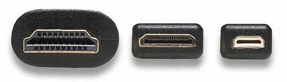 Виды HDMI разъемов